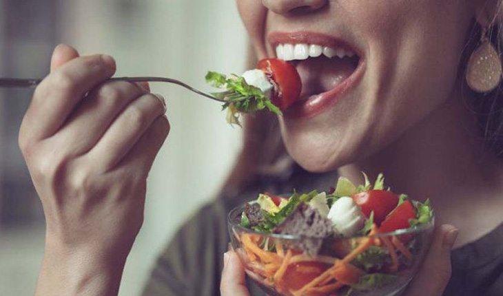 intervalo entre as refeições