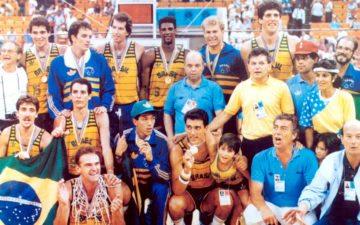 Pan de 1987: ouro do Brasil