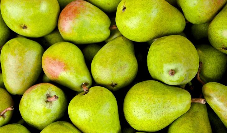 Frutas com baixo índice glicêmico: pera