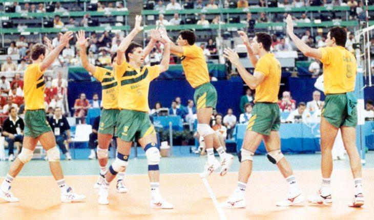 Primeiro ouro do vôlei, seleção brasileira masculina, 1992