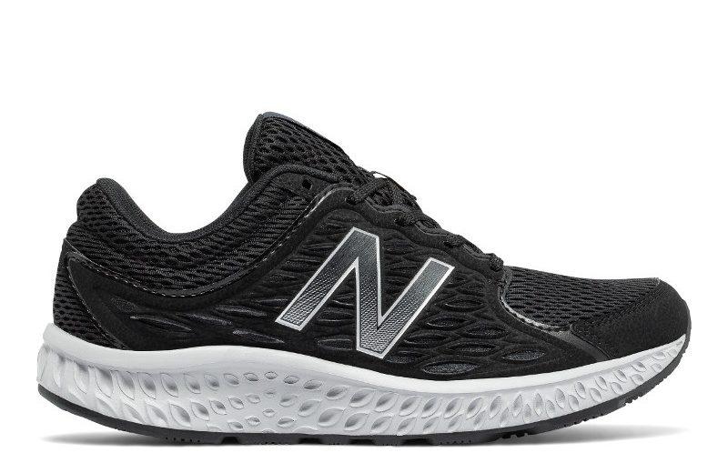 Tênis new balance corrida masculino preto e branco