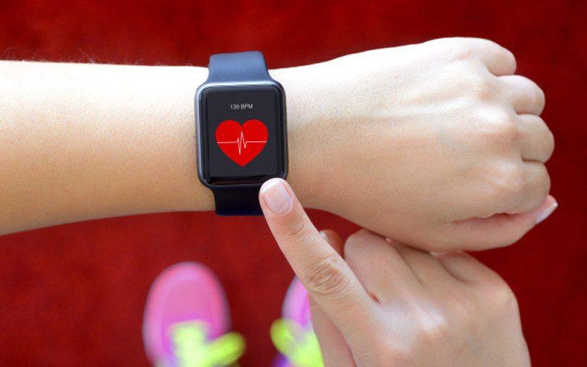 medidor de frequência cardíaca atividade física
