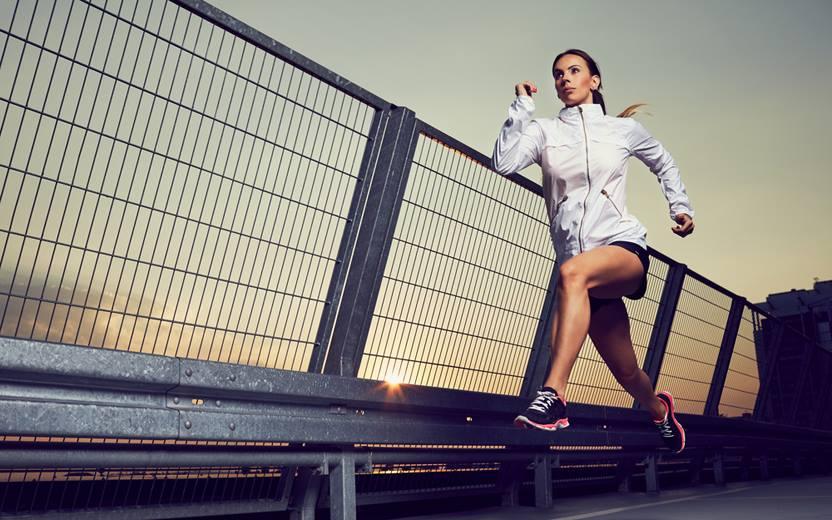 correr é contagioso