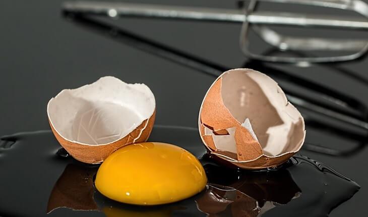 Gema do ovo. Benefícios da luteína