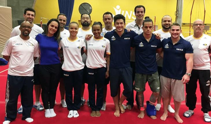 Seleção Brasileira de ginástica artística