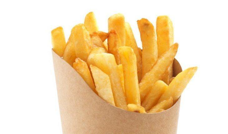 Batata frita alimentos inflamatórios