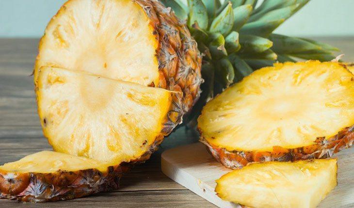 Abacaxi. alimentos que queimam gordura da barriga