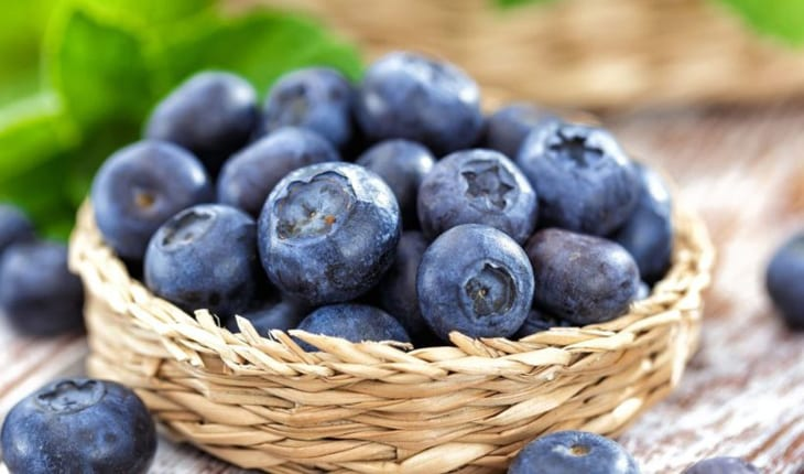 vitamina de blueberry