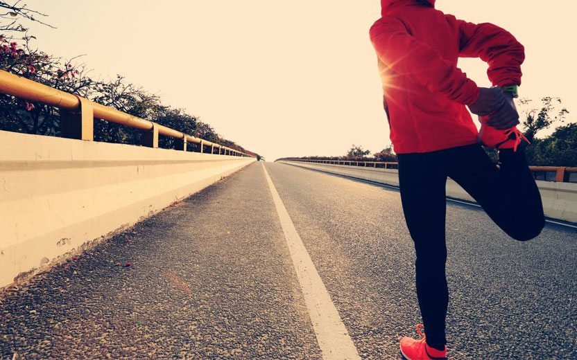 correr gripado