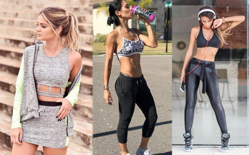 3301706da2 Looks fitness  20 ideias para malhar sem perder o estilo!