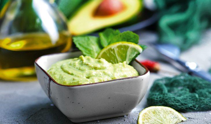 receitas saudáveis - maionese de abacate