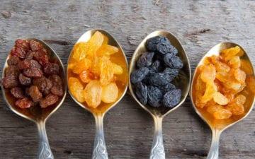benefícios da uva-passa