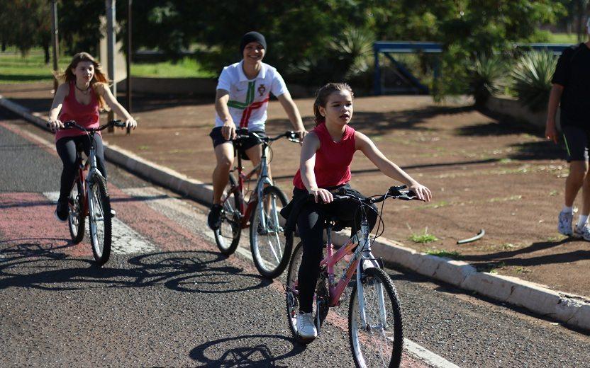 ciclofaixa em Ribeirão Preto