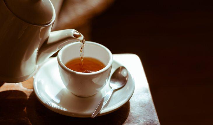 como fazer chá