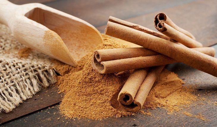 Especiarias: antioxidantes naturais. Na foto, canela em pau e canela em pó