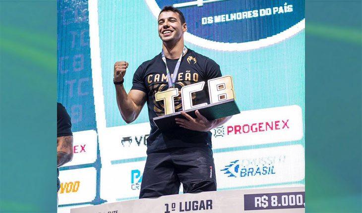 Anderson Primo: tricampeão do TCB. Foto: Divulgação