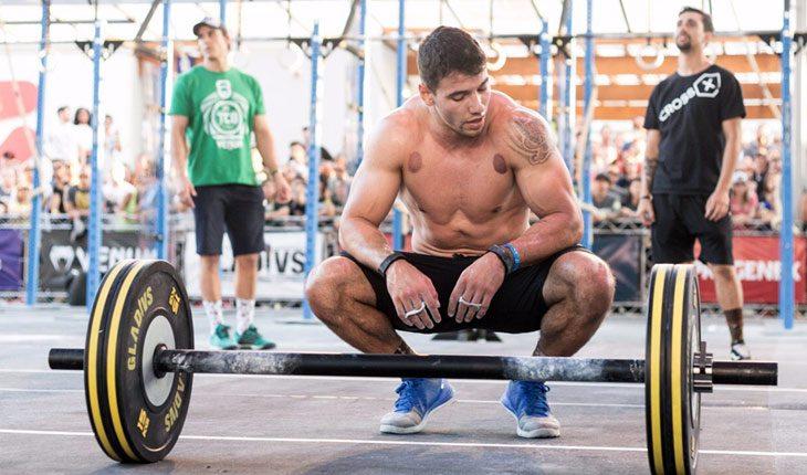 Anderson Primo, durante competição de CrossFit. Foto: Thais Oliveira/Divulgação