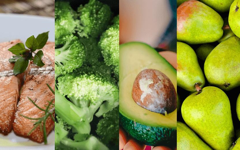Salmão, brócolis, abacate e pera: alimentos que podem atuar na prevenção do câncer de mama. Exercícios e alimentação podem prevenir câncer de mama | Outubro Rosa