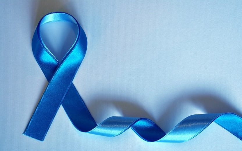 Laço azul Câncer de próstata