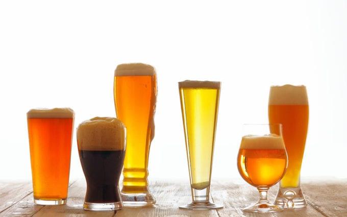 bebida alcoólica e treino