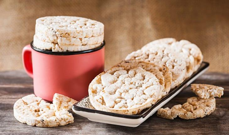 biscoito de arroz