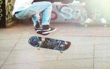 andar de skate