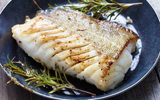 receita saudável de bacalhau
