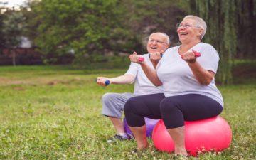 Atividades na terceira idade: mais exercício e menos fratura
