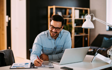 Mantenha a postura e a qualidade de vida no home office