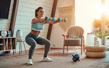 Item essencial? Confira 8 produtos para fazer os exercícios em casa