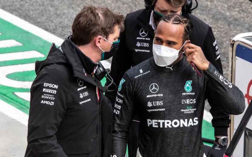Hamilton é um exemplo de comportamento em uma derrota