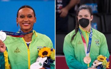 Rebeca e Mayra nas olimpíadas