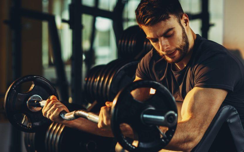 Aumentar o peso na academia