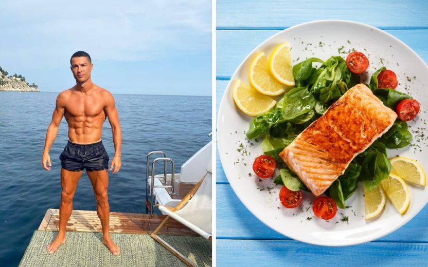 Dieta Mediterrânea do Cristiano Ronaldo