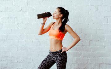 Shake para ganhar massa muscular